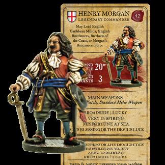 Henry Morgan, Legendary Commander 1