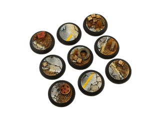 Highway Bases, WRound 30mm (5) 1