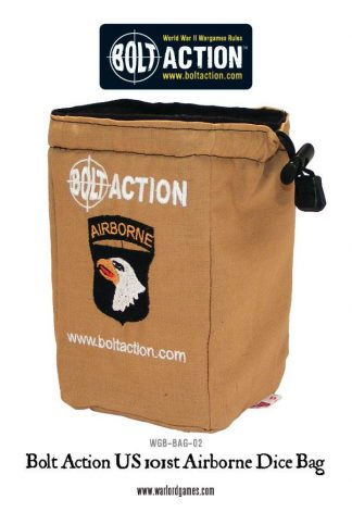 Bolt Action 101st Airborne Dice Bag 1