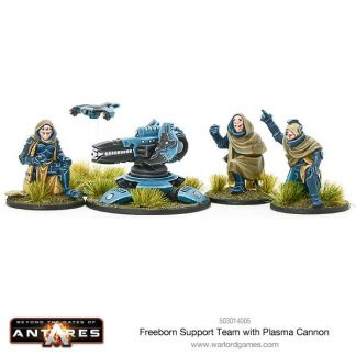 Freeborn support team with plasma cannon 1
