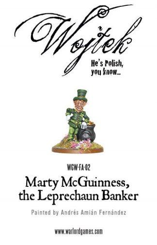 Marty McGuinness the Leprechaun Banker 1