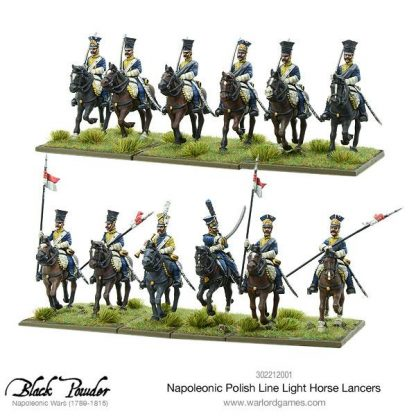 Napoleonic Polish Line Light Horse Lancers 3