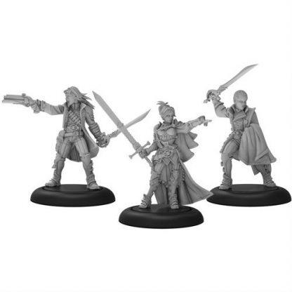 Mercenary Warcaster Unit Ashlynn d'Elyse Queen's Blade (3) 1