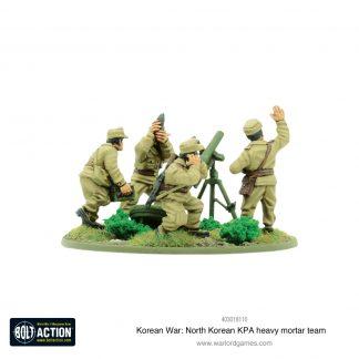 Korean War: North Korean KPA heavy mortar team 1