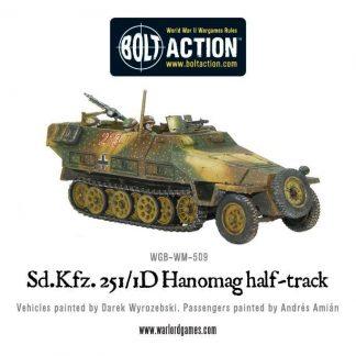 Sd.Kfz 251/1 ausf D halftrack Hanomag (plastic) 1