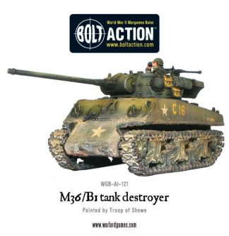 US M36/B1 tank destroyer 1