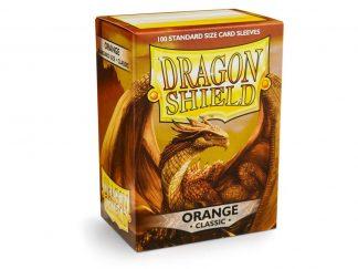 Dragon Shield Sleeves Orange (100) 1