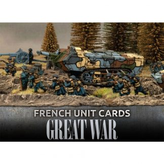 Great War: French Unit Cards 1