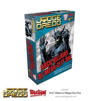 Judge Dredd: Arch Villains of Mega City 1 1