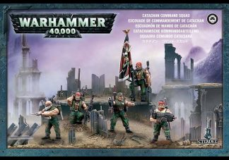 Catachan Command Squad 1