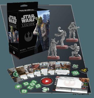 Star Wars Legion: Rebel Troopers Upgrade 1