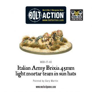 Italian Army 45mm Brixia Light Mortar 1