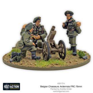 Belgian Chasseurs Ardennais FRC 76mm infantry gun 1