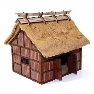 Shogunate Japanese Village Rice Barn 1