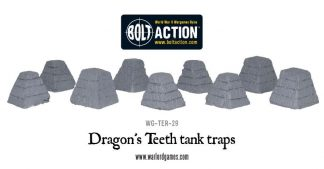 Dragon's Teeth Tank Traps 1