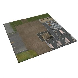 Deluxe Gaming Mat - Prison Grounds 1
