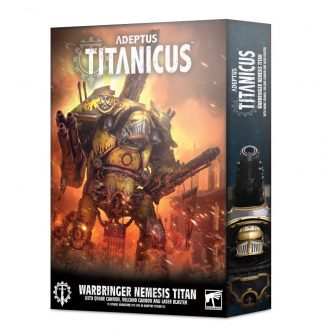Adeptus Titanicus: Warbringer Nemesis Titan with Quake Cannon, Volcano Cannon and Laser Blaster 1