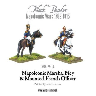 Marshal Ney & Mounted French Officer 1