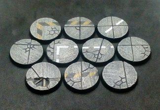 Concrete: 32mm Round Bases (10) 1