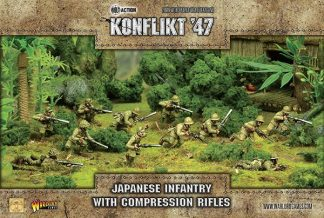 Japanese Infantry with Compression Rifles 1