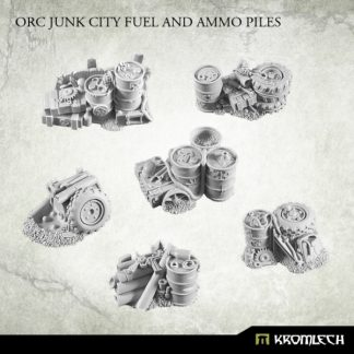 Orc Junk City Fuel and Ammo Piles (6) 1