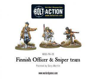 Finnish Officer & Sniper Team 1