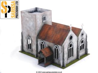 English Village Church 1