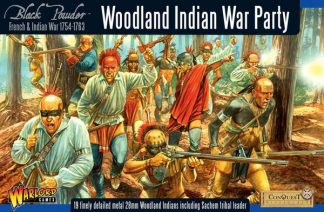 Woodland Indian War Party 1