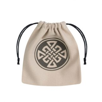 Celtic Beige & black Dice Bag 1