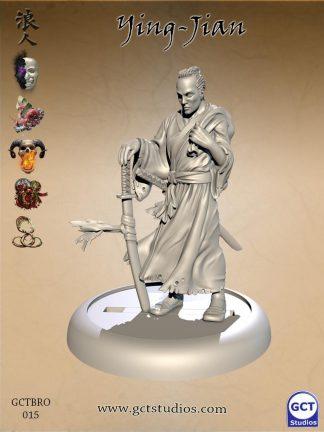 Ying-Jian, Blood Brother Samurai 1