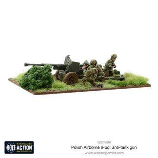 Polish Airborne 6 pdr Anti-Tank Gun 1