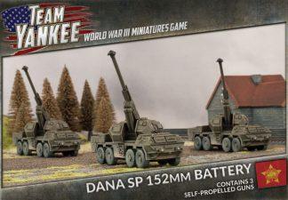 DANA SP 152mm Artillery Battery 1