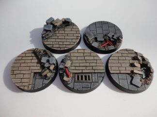 Cityfight: 40mm Round Bases (5) 1