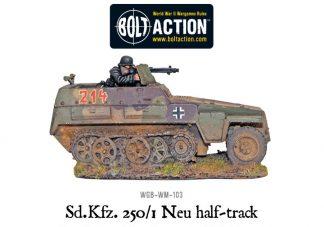 Sd/Kfz 250/1 - Neu Halftrack 1