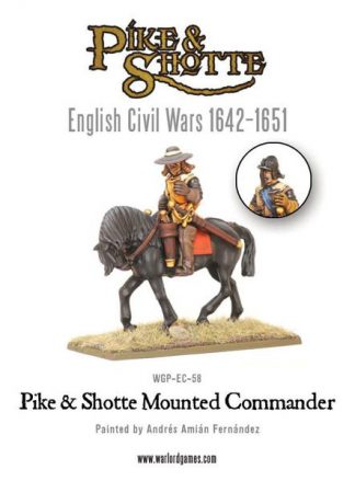 Pike & Shotte Mounted Commander 1