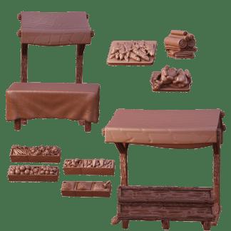 Terrain Crate: Market Stalls 1