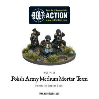 Polish Army Medium Mortar team 1