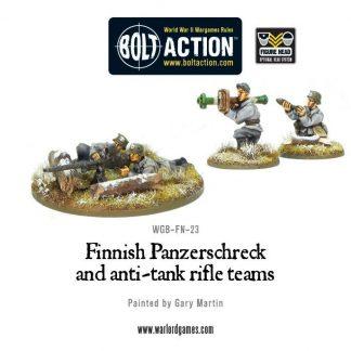 Finnish Panzerschreck & anti-tank rifle teams 1