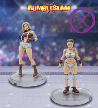 Rumbleslam Female Brawler & Grappler 1
