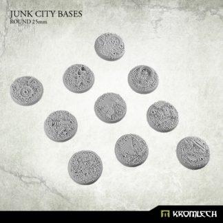 Junk City round 25mm (10) 1