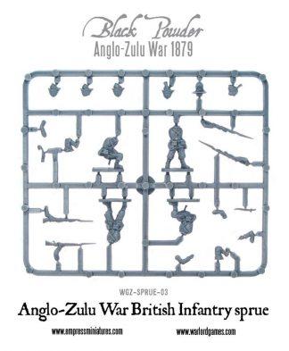 Anglo-Zulu War British Infantry (Red Coats) Frame 1