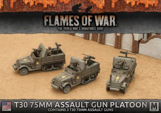 T30 75mm Assault Gun Platoon (3x) 1