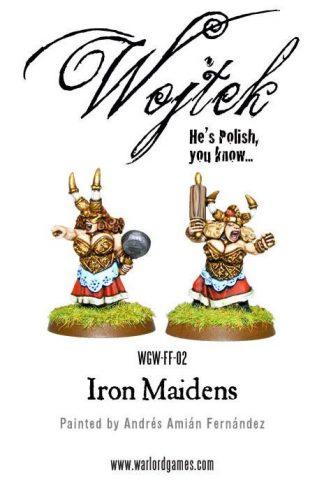 Dwarf Ladies - Iron Maidens 1
