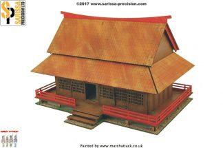 Feudal Japanese Samurai House 1