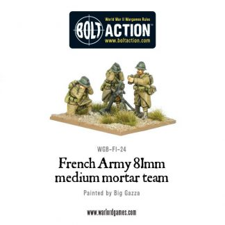 Early War French 81mm Mortar Team 1