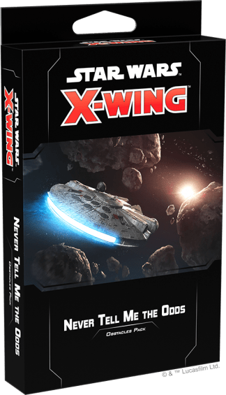 Star Wars X-Wing: Never Tell Me the Odds Obstacles Pack 1