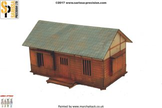 Feudal Japanese Village House/Outhouse 1