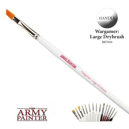 Wargamer Brush: Large Drybrush 1