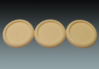 Recessed: 50mm Round Bases (Lipped) (3) 1