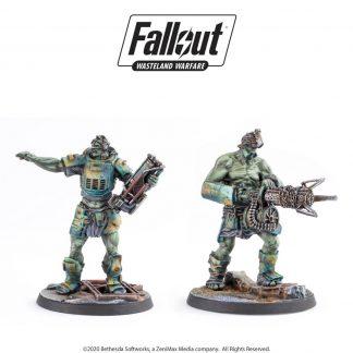 Fallout: Wasteland Warfare Super Mutants: Fist & Overlord 1